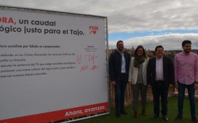 Los candidatos toledanos del PSOE se comprometen a recuperar el Tajo y acelerar el cambio en la política de agua