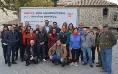 El PSOE se compromete a defender en el Congreso y en el Senado más oportunidades para nuestros pueblos
