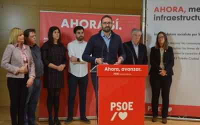 El PSOE se compromete a mejorar las conexiones con Madrid