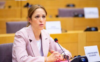 Cristina Maestre pide a la Comisión Europea que aumente el Fondo de Solidaridad para hacer frente a inundaciones como las ocurridas en España