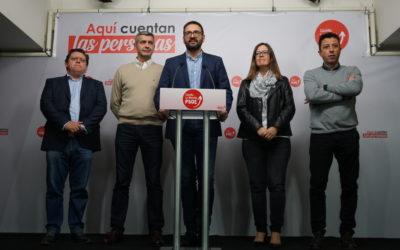 Gutiérrez: «Somos la tercera comunidad donde más crece el PSOE en porcentaje de voto»