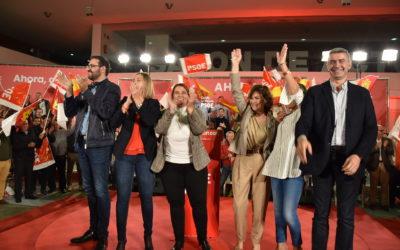 Carmen Calvo: «Hay solo dos opciones: o vuelve la derecha extrema o gobernamos los socialistas»
