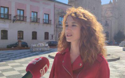 """López: """"Antes había recortes, cierre de empresas y paro; ahora, ayudas, empleo y recuperación"""""""