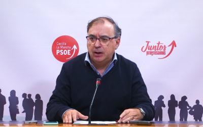 """El PSOE de CLM pregunta a Núñez si está con Feijóo en impulsar la abstención o en la """"radicalidad"""" del bloqueo"""