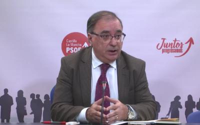 """El PSOE de CLM vuelve a rechazar el trasvase ante una nueva posible derivación: """"Agua para todo, no"""""""