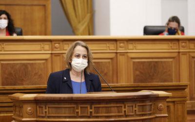 Manuela Casado defiende en las Cortes una docena de medidas para la reindustrialización y relanzamiento de la Comarca de Almadén
