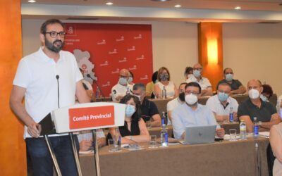 """Gutiérrez apunta la caída de Núñez en la """"espiral del perdedor"""" y reivindica al PSOE como «el partido del progreso, el regionalismo y la honradez frente a los recortes"""""""