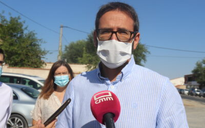 """Gutiérrez recalca la """"gran diferencia"""" con el PP: """"Con Page hay menos trasvases, más financiación y más inversiones"""""""