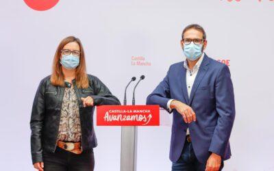 """Gutiérrez insta a Núñez a """"abandonar el frentismo"""" y a defender CLM en agua y financiación"""