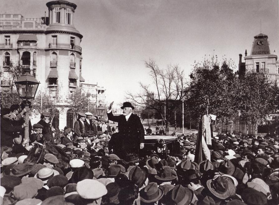 El desarrollo de la organización socialista (1879-1921)